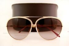 Brand New Roberto Cavalli Sunglasses RC 721 721S 28F Gold Red/Brown  For Women