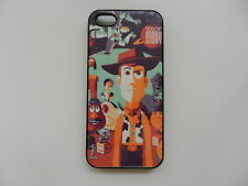 Disney Toy Story Woody Retro Negro Duro posterior Funda Protectora Para Apple Iphone 5/5s