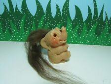 """1964 DAMS THINGS ELEPHANT - 3"""" Dam Troll Doll - EXCELLENT CONDITION"""