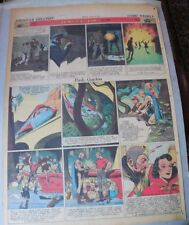 Flash Gordon Sunday by Alex Raymond from 4/14/1940 Large Full Page Size!