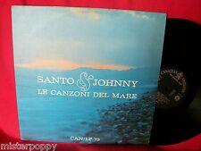 SANTO & JOHNNY Le Canzoni del Mare LP 1970 ITALY EX+