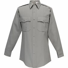 "Flying Cross Women's Gray Police Command Shirt - 42 Long 31"" Sleeves: 126R7881"