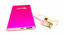 Power Bank for iPhone 4 Charger External Battery 4800mAh Portable Battery pink