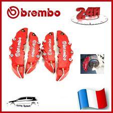 CACHE ETRIER DE FREIN BREMBO 3D UNIVERSEL ROUGE SPORT PEUGEOT RCZ