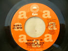BRENDA & THE TABULATIONS WALK ON IN / mono / stereo promo / demo epic 11059