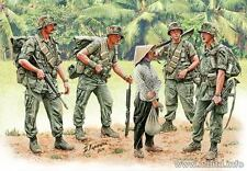 PATROLING. VIETNAM WAR SERIES 5 FIGURES 1/35 MASTER BOX 3599 DE