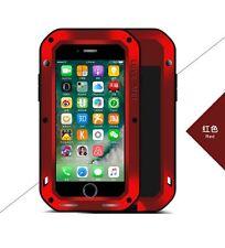 Coque iPHONE 7 - LOVE MEI  FRANCE - antichoc et étanche - Rouge