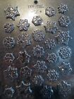 FANCY BS FROZEN SNOWFLAKE ASSORTMENTcandy chocolate molds cupcake toppers