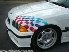 BMW E36 E46 M3 Lightweight Flag Decal Kit - LTW Sticker