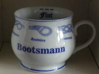 Bootsmann Plattdeutsch Henkel Becher Kaffee Tasse Tee Henkelmann Platt Mugg