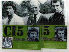 THE PROFESSIONALS B/W LAMINATED PHOTO +2  I.D CARDS