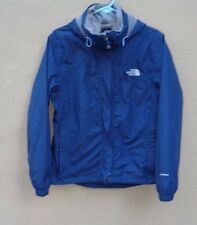 THE NORTH FACE HYVENT LIGHT NYLON HOODIE WIND BREAKER BLUE CASUAL JACKET Sz M