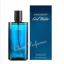 DAVIDOFF COOL WATER FOR MEN EAU DE TOILETTE SPRAY 4.2oz 125ml  - NEW IN BOX