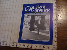 VINTAGE hacky sack paper: KICKER'S CHRONICLE winter 82/83, 4pages