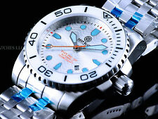 New Deep Blue Diver Pro Auto Silver Wave Dial 1000M Ceramic Bezel Sapphire Watch