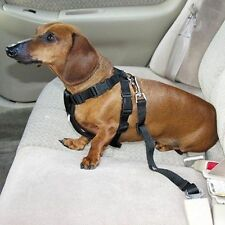 Black Car Vehicle Seat Safety Belt Seatbelt Restraint Travel for Dog Pet Cat