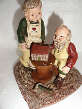 Sarah's Attic 1988 Limited Edition Mr & Mrs Santa Claus Figurine