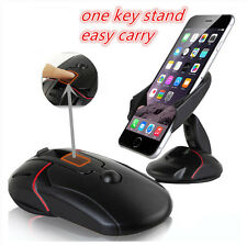 Folding 360 °adjust Cell Mobile Phone GPS Mount Transformer Holder Car Dashboard