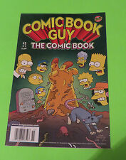 2010 SIMPSONS COMICS BONGO COMIC BOOK GUY THE COMIC BOOK #5