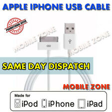 Genuine Original Apple Sync & Charger USB Data Cable Wire For iPhone 3 3gs 4 4s
