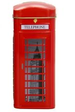 New English Teas London Telephone Box Tin 14 Teabags 28g
