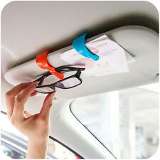 2Pcs Convenient Multi-purpose Vehicle Car Sun Visor Sunglasses Clip Memo Clip YX