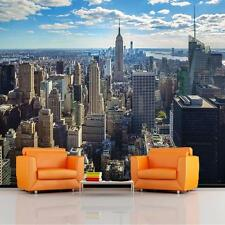 GIANT PHOTO WALLPAPER NEW YORK SUNRISE SCENERY LANDSCAPE WALL MURAL 3.35 x 2.36m