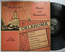 Oklahoma / The King And I Rodgers And Hammerstein 50s LP
