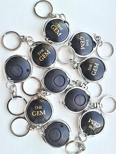 Qty:10 The GEM -  UV Black Light Keyring - Fake ID, Money Checker - Security SIA