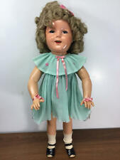 """27"""" ANTIQUE 1934 IDEAL COMPOSITION SHIRLEY TEMPLE DOLL"""