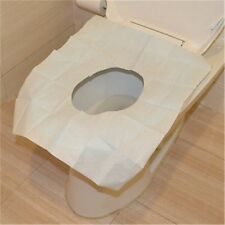 New Useful 1 Pack 10Pcs Disposable Covers Paper Toilet Seat Covers JL