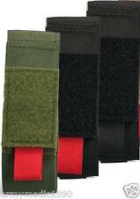 CAT Combat Application Tourniquet pouch case holder  Color BLACK/ BLACK pull tab