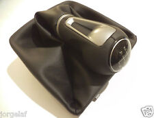 SEAT Ibiza MK5 Modelo 2008+ 5 Speed Gear Knob pommeau Polaina leather pomo cupra