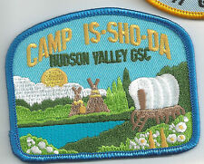 Hudson Valley Girl Scout Patch - Camp Is-Sho-Da (now Northeastern New York)