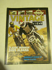 October 2008 issue 235 Vintage Views AHRMA Magazine  (BD-43)