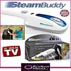 STEAM BUDDY Portable Travel Handheld Steamer Iron for Fabrics Garments Clothes