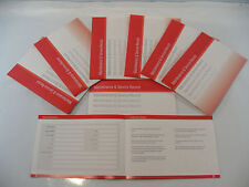 Generic Service History Book Suitable For Favorit Felicia Octavia Fabia Red