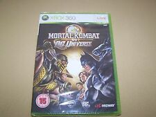 Mortal Kombat VS DC Universe Xbox 360 **New & Sealed**