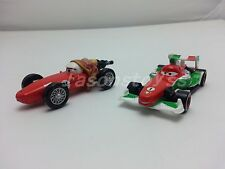 Mattel Disney Pixar Cars 2 Francesco Bernoulli & Mama Bernoulli Toy Car 1:55 New