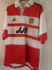 2000-2001 Wigan Warriors Rugby League home shirt adulte moyen (31761)