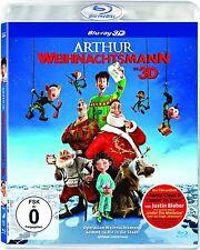 ARTHUR WEIHNACHTSMANN (Blu-ray 3D) NEU+OVP