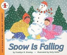 SNOW IS FALLING (Brand New Paperback) Franklyn M Branley
