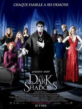 Affiche 120x160cm DARK SHADOWS 2012 Tim Burton - Johnny Depp, Haley, Green NEUVE
