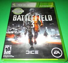 Battlefield 3 Xbox 360  Factory Sealed!! Free Shipping!!