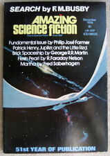 AMAZING SCIENCE FICTION Dec 1976 Little Red Brick Spaceship George R.R. Martin