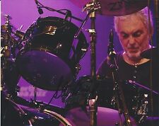 Steve Gadd Signed Autographed 8x10 Photo Studio Session Drummer Proof F