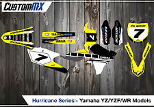 Yamaha YZ125 YZ250 UFO Restyled YZF250 YZF450 YZ85 Complete Graphics Kit