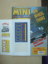 MINI WORLD MAGAZINE JULY 1994 WITH ORIGINAL FREE STICKERS
