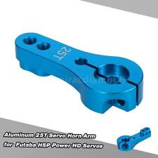 Aluminum 25T Servo Horn Arm for Futaba HSP Power HD Servos Blue F4Q5