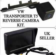 Reverse Rear Camera Kit For VW Transporter T5,Caddy,Golf,Passat & Skoda,Uk